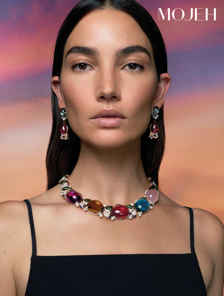 Bvlgari Magnifica Collection Prodigious Colour High Jewellery necklace