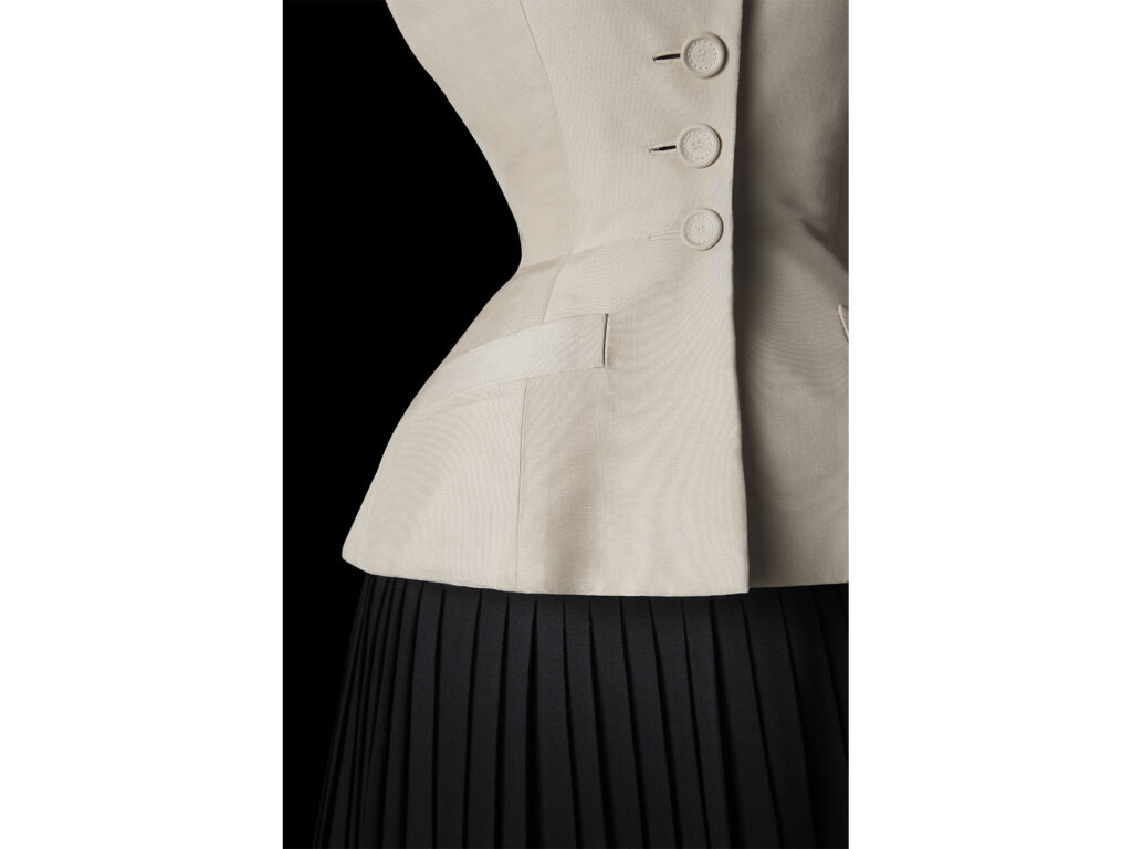 The iconic Dior Bar jacket