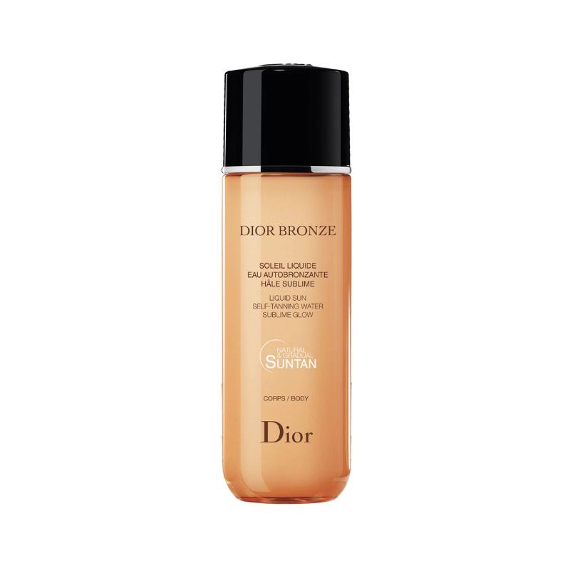 Summer holiday essentials: Dior Bronze Liquid Sun Self-Tanning Water