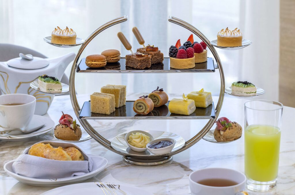 Afternoon Tea at Her By Caroline Astor, St. Regis The Palm Dubai