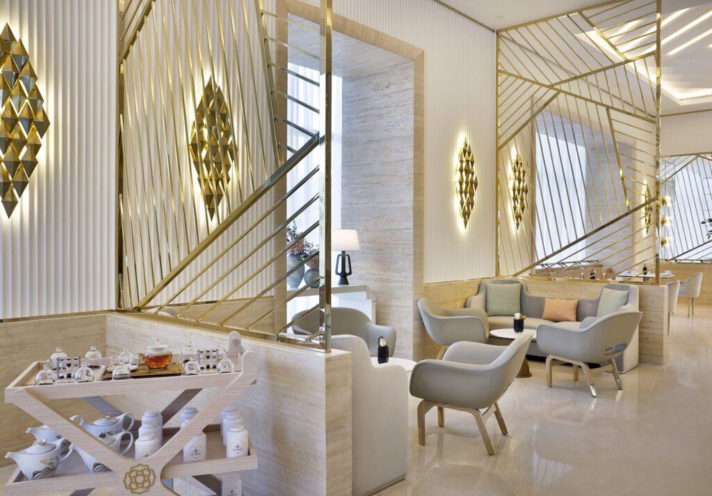 The interiors of Her by Caroline Astor, St. Regis The Palm Dubai