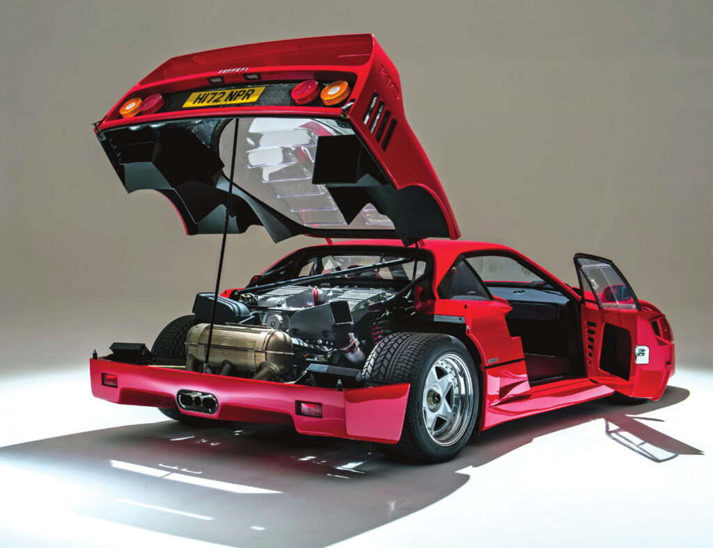 Investing in cars as collectibles; Ferrari F40