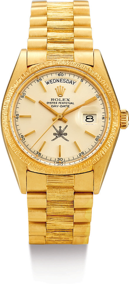 Watches make for great investment pieces; The Sultanate of Oman's Rolex