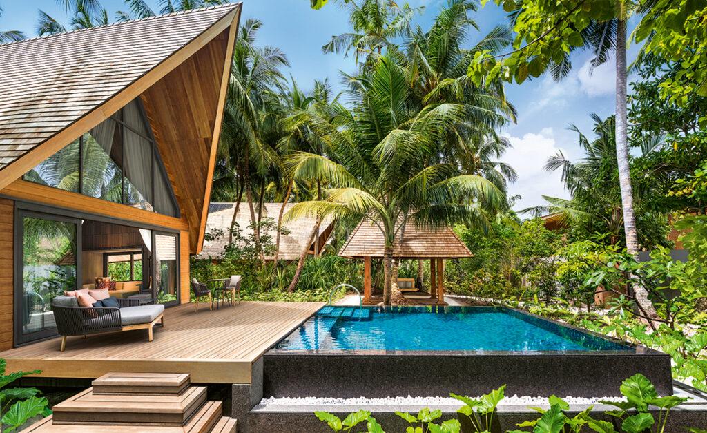 St. Regis Maldives Vommuli Resort, Dhaalu Atoll