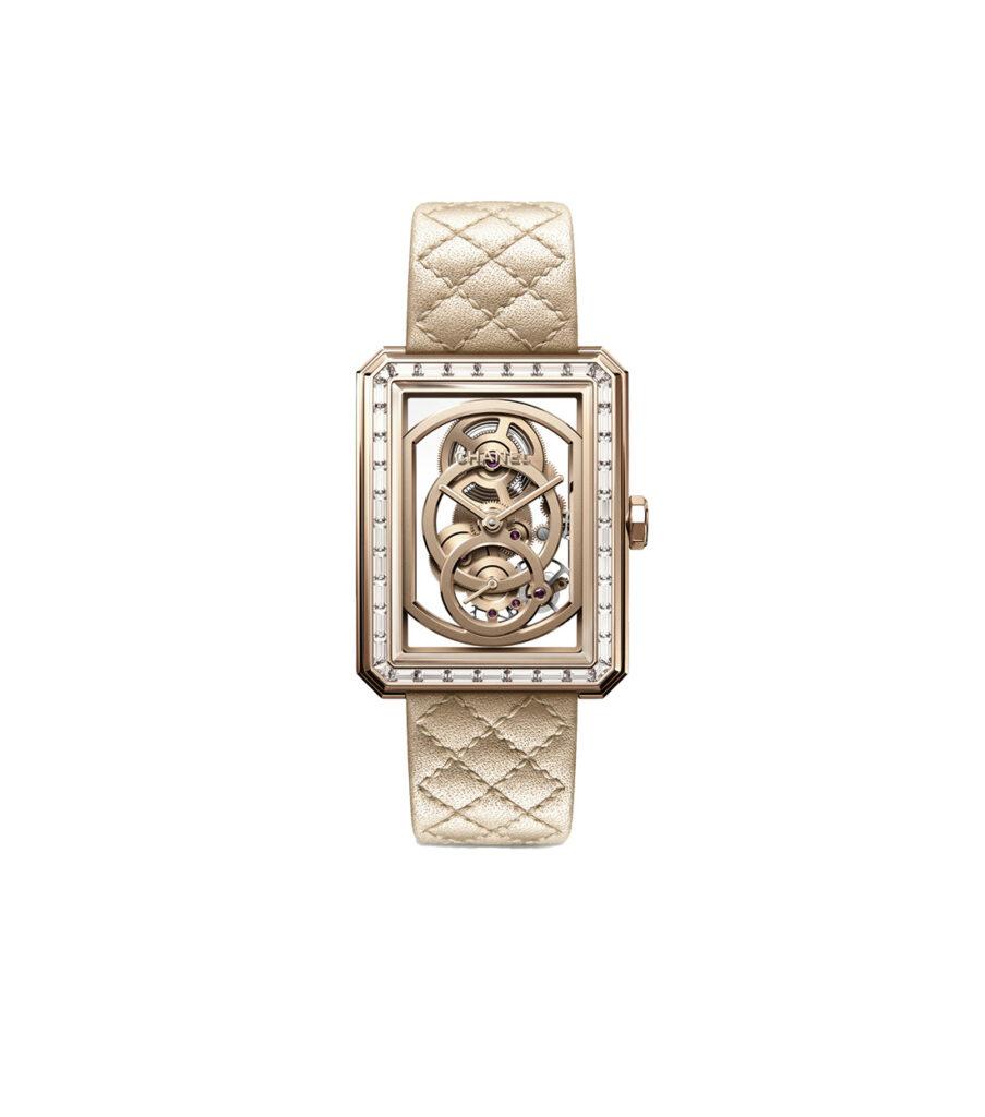 Chanel Boyfriend Skeleton Timepiece