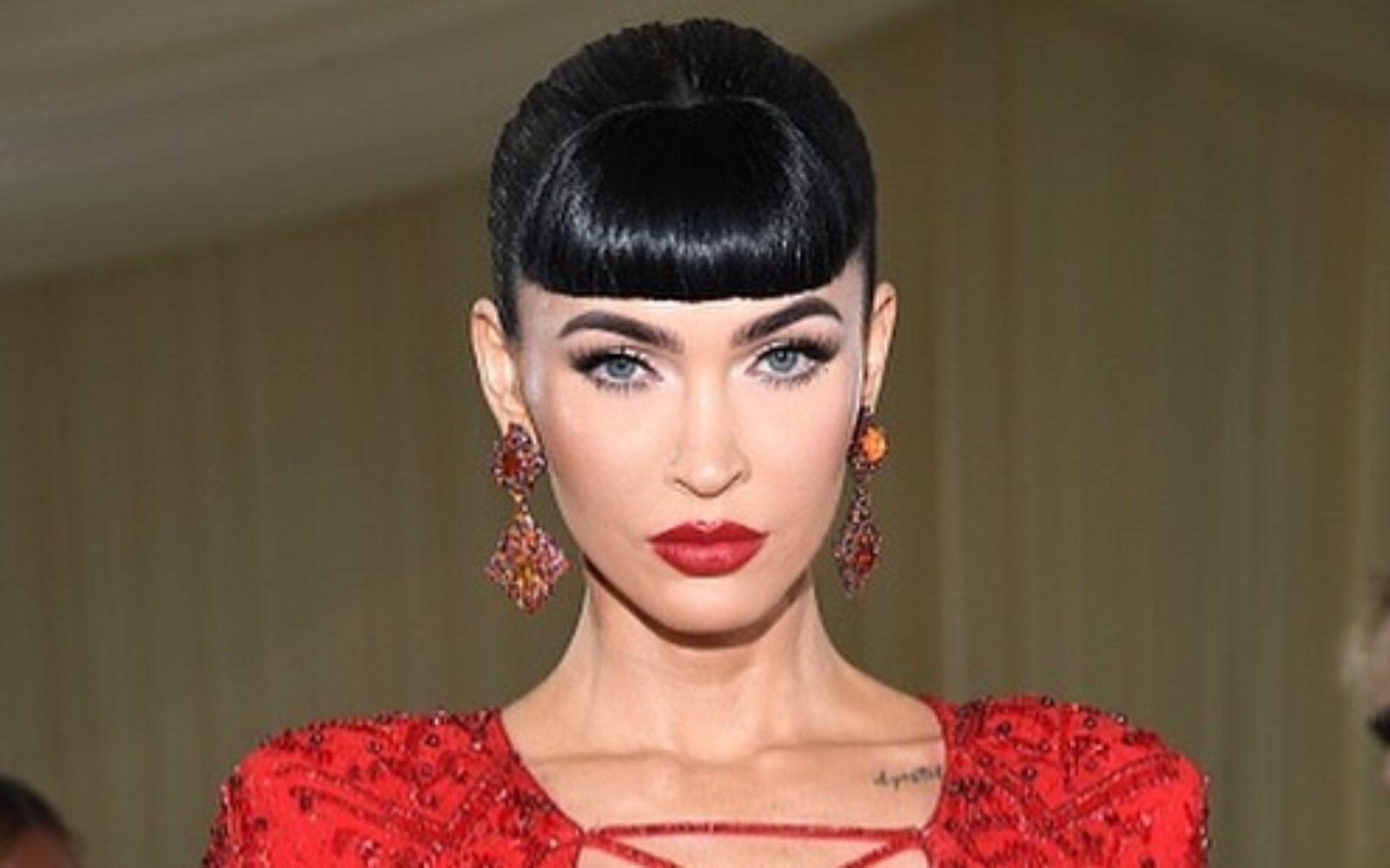 Megan Fox at the 2021 Met Gala; Best of hair and makeup