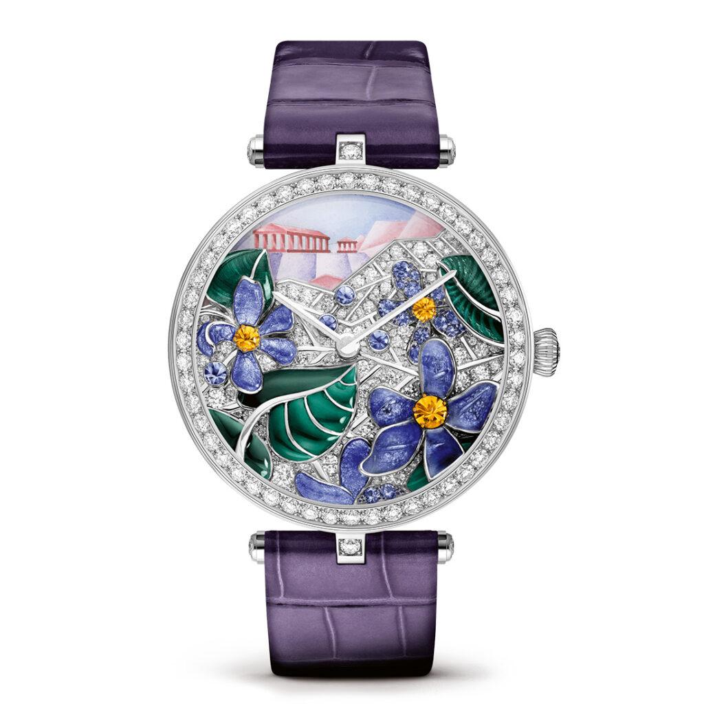 Van Cleef & Arpels Lady Arpels Poëme Violette Watch