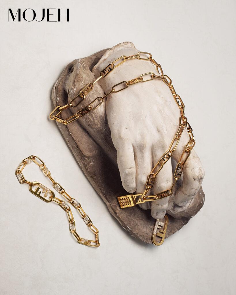 Fendi O' Lock jewellery