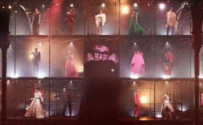 Albert Elbaz Tribute Show Paris Fashion Week