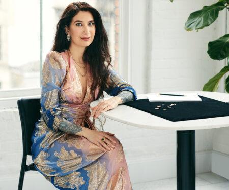 Jewellery designer Maria Tash is the pioneer of piercings