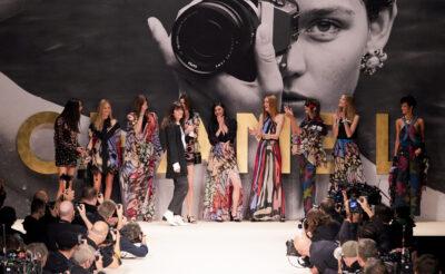 Virginie Viard Chanel Spring/Summer 2022 finale at Paris Fashion Week