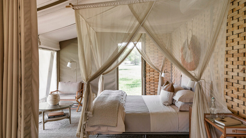 How To Turn Your Home Into A Holiday Hotel; Singita Sabora Tented Camp